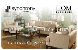 image of Hom Furniture Credit Card