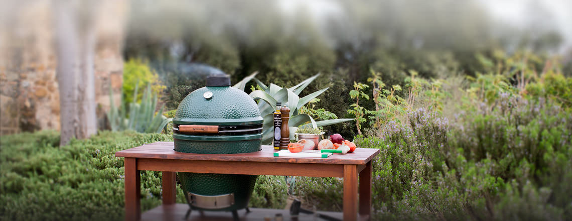 Buy Big Green Egg For Midwest Bbq Time Hom Furniture