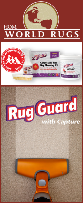The HOM Rug Guard program combines the finest rug care products available  with HOMs exclusive in-home service plan for a full 3 years from the date  of ...